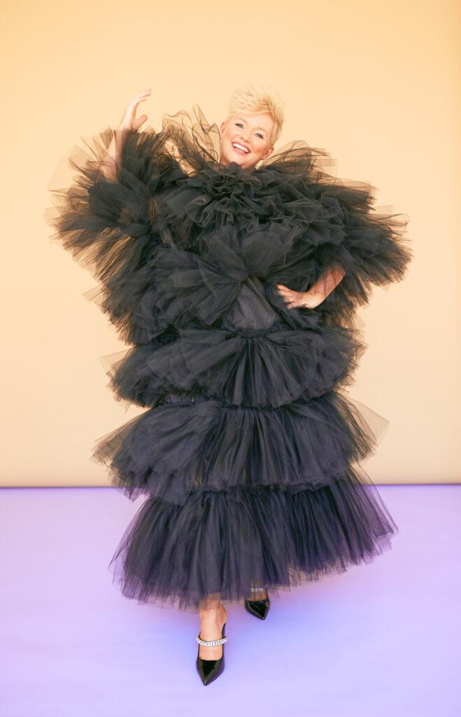 Cecelia_Ahern-wearing Aoife Brady Designs